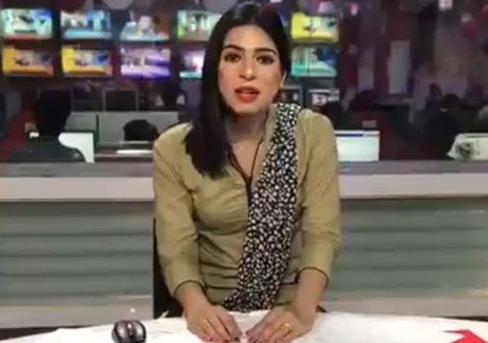 Marvia Malik made her first appearance as a TV newsreader last week