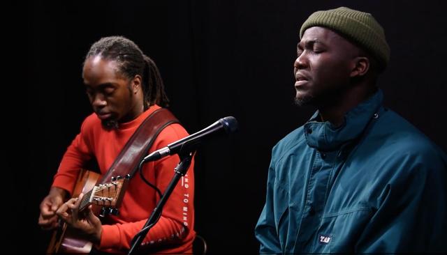 Jacob Banks (right) performs three tracks for Music Box season 3