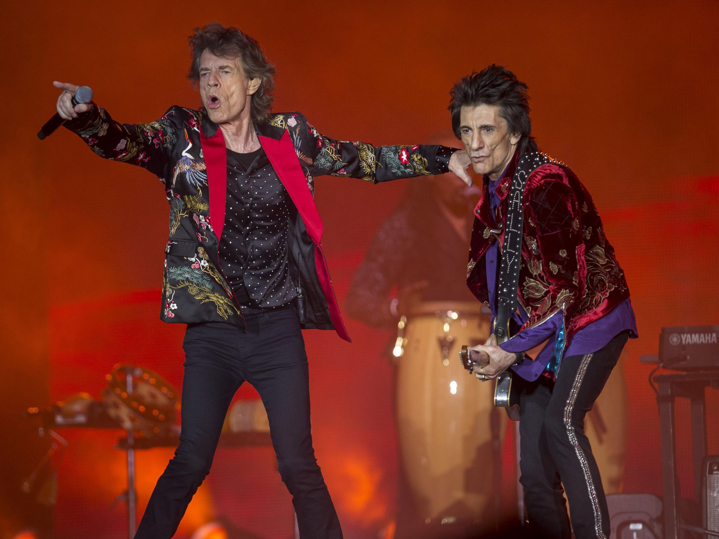 Rolling Stones tour 2018: Liam Gallagher, Florence + The ... Rolling Stones Tour 2018