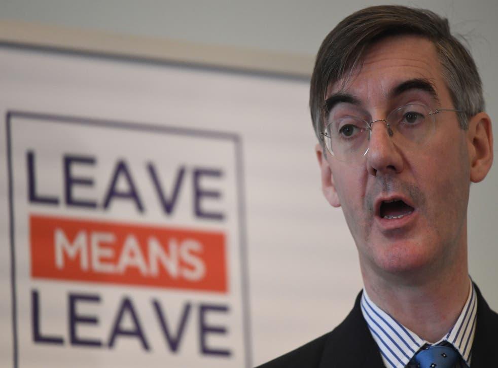 Echoing Boris Johnson, Jacob Rees-Mogg said the Treasury was the 'beating heart of Remain'
