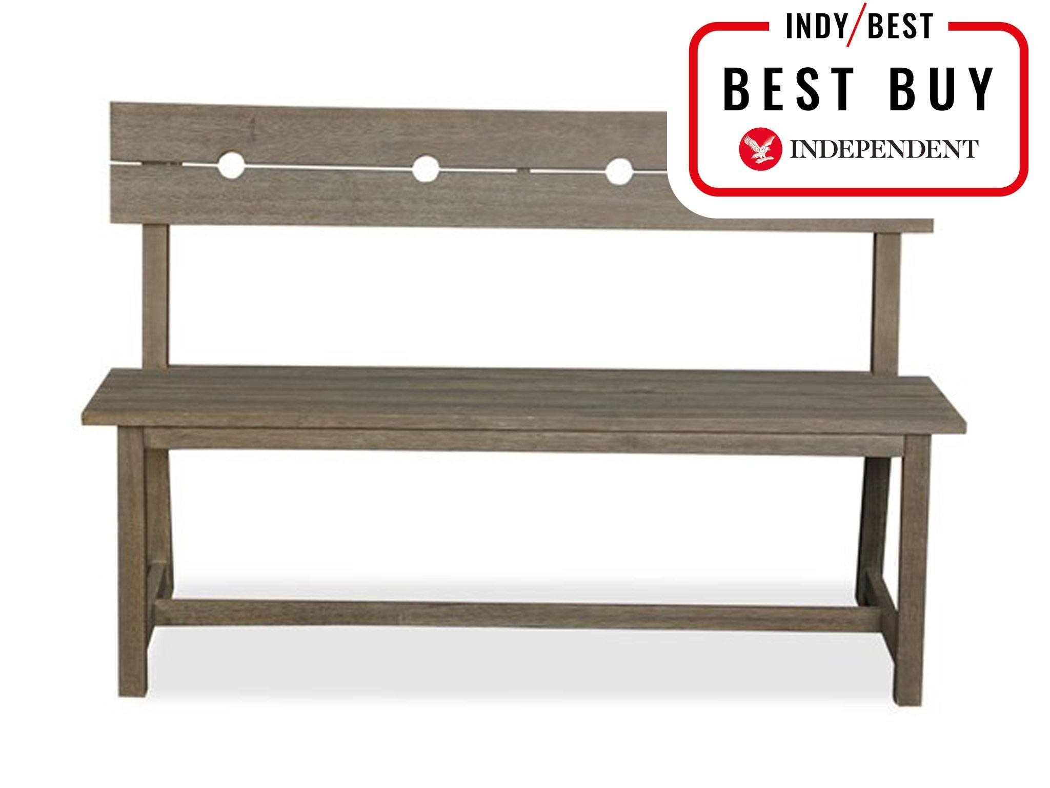 Magnificent 10 Best Garden Benches The Independent Machost Co Dining Chair Design Ideas Machostcouk