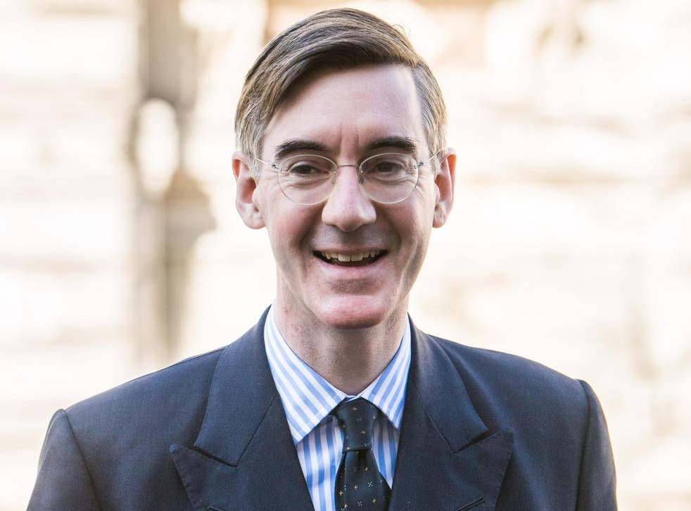 Mr Rees-Mogg played down his prospects of becoming prime minister – but, notably, did not rule it out