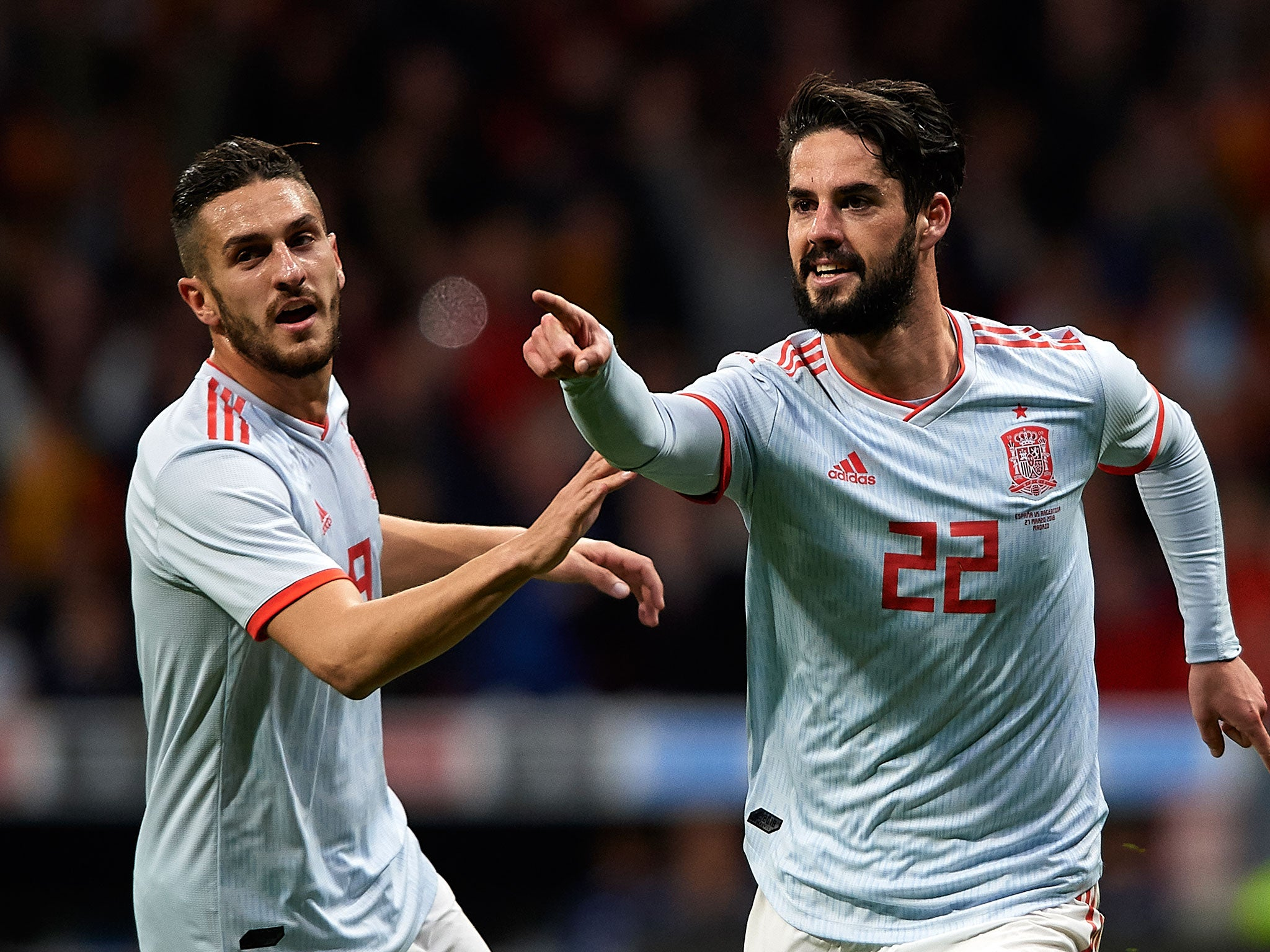 Isco issues thinly veiled attack on Zinedine Zidane over Real Madrid minutes after inspired Spain hat-trick