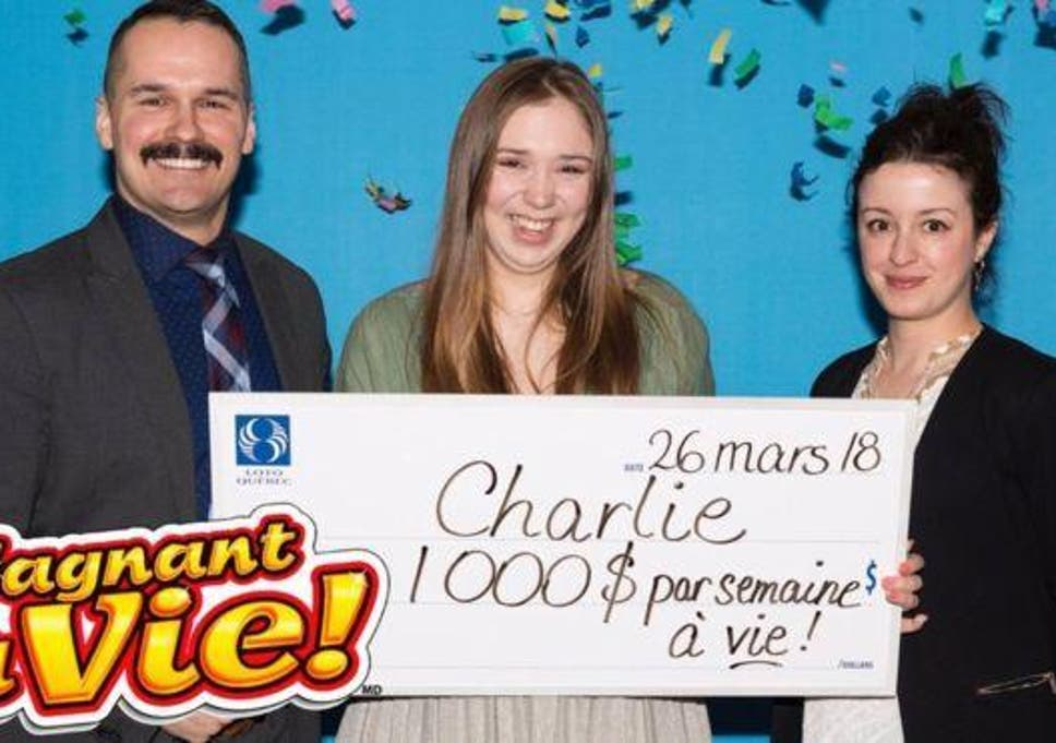 Woman wins lottery after buying first ever ticket to mark