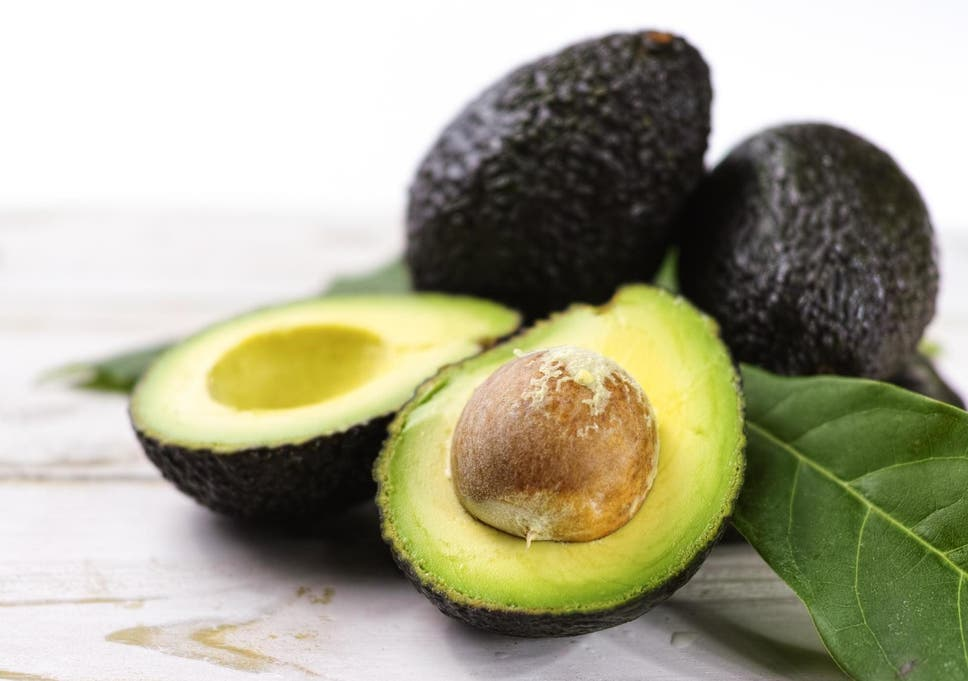 People stealing avocados from supermarket self-service