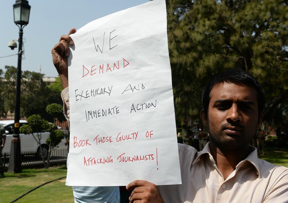 Three journalists killed in 24 hours highlights India press freedom