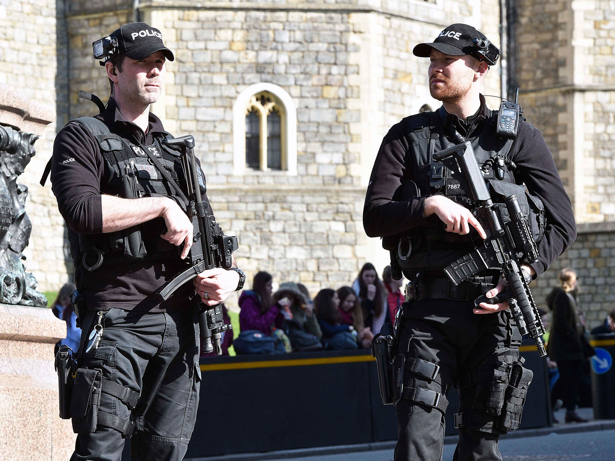 Terror attacks and violent crime drive armed police