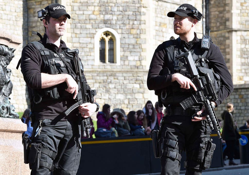 Terror attacks and violent crime drive armed police operations up by