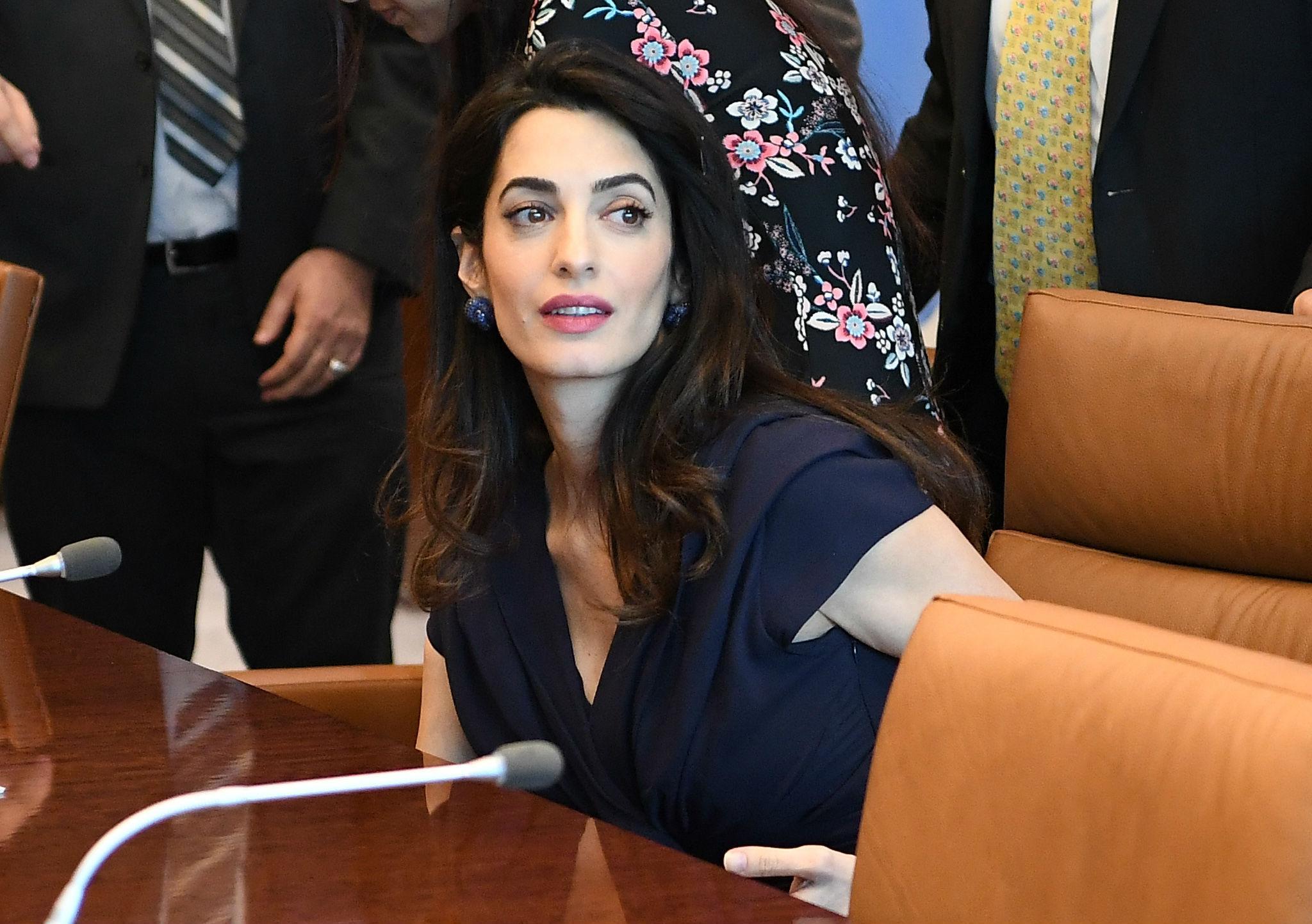 Amal Clooney To Represent Reuters Journalists Imprisoned In Myanmar