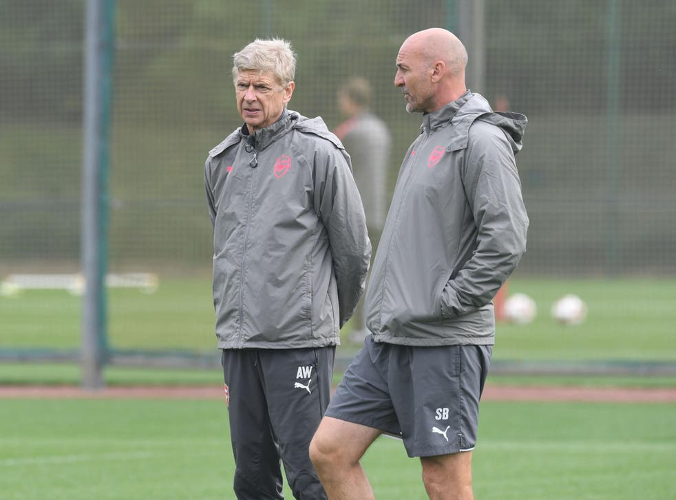 Bould stepped in for Wenger after illness