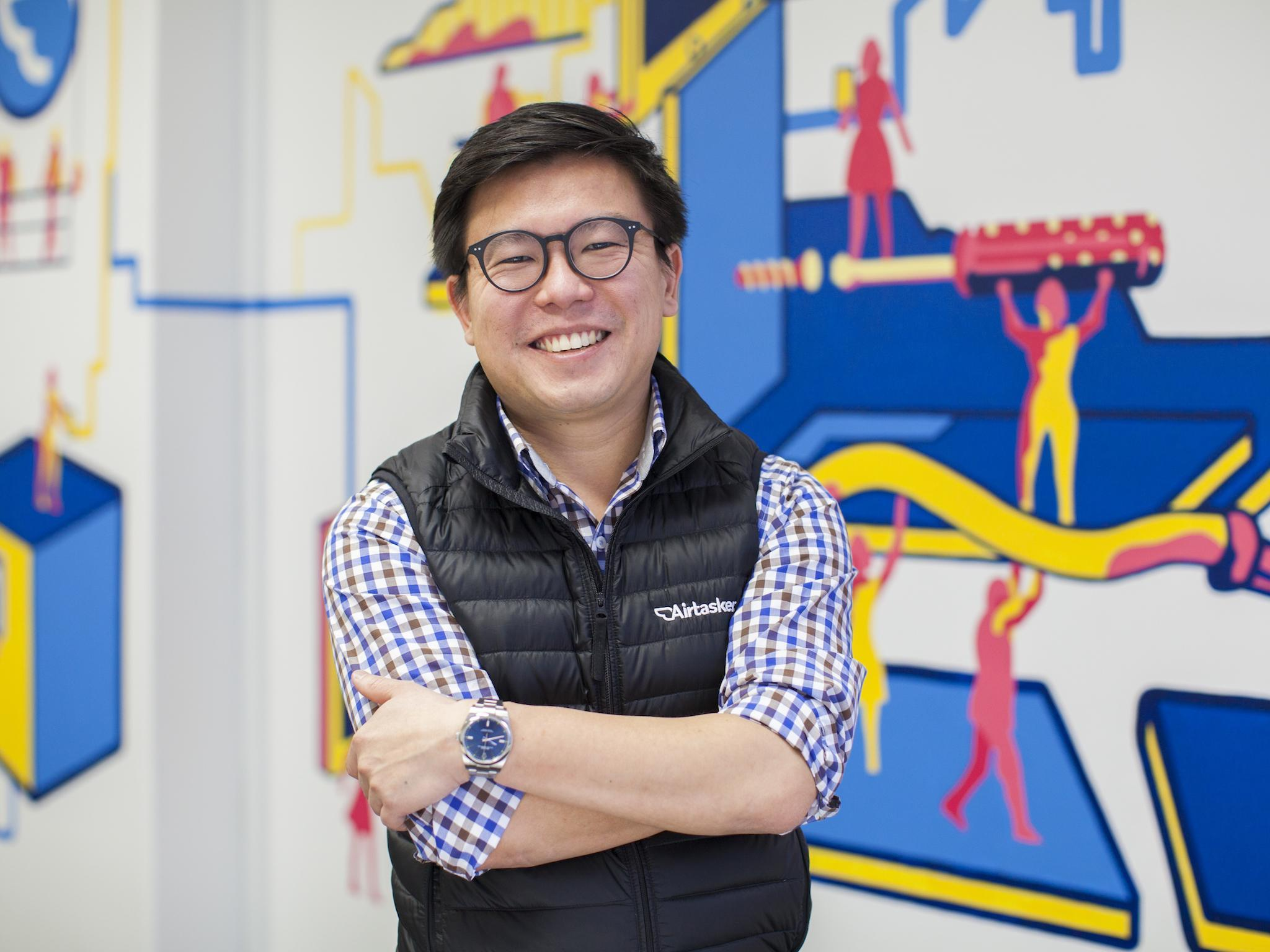 Airtasker: How moving house inspired Tim Fung to create a