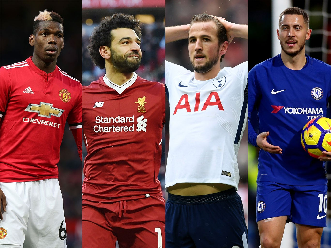 Premier League top-four race: Who has the best run-in? Manchester United, Liverpool, Spurs or Chelsea?