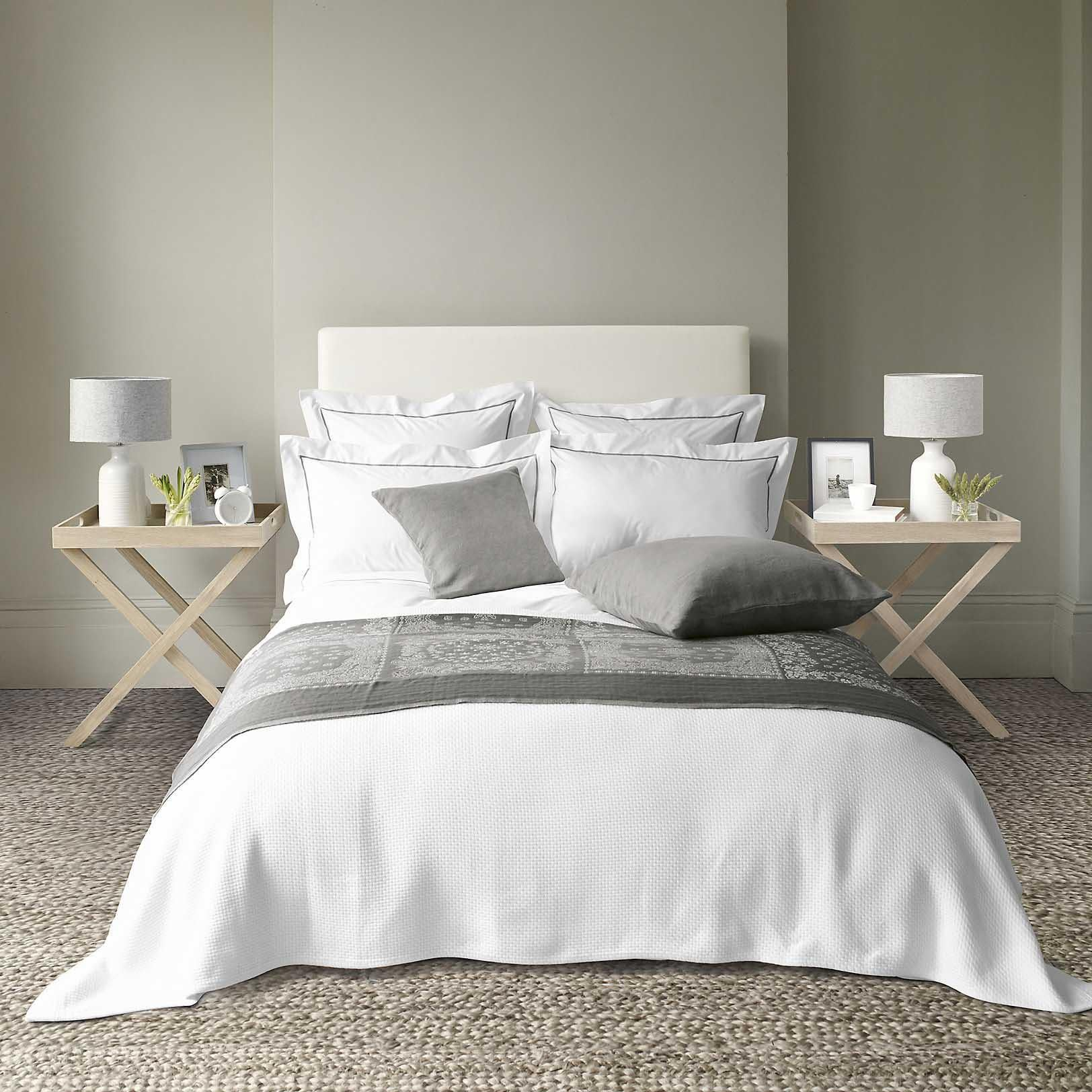 The white companys savoy bed linen collection from 169 the white company
