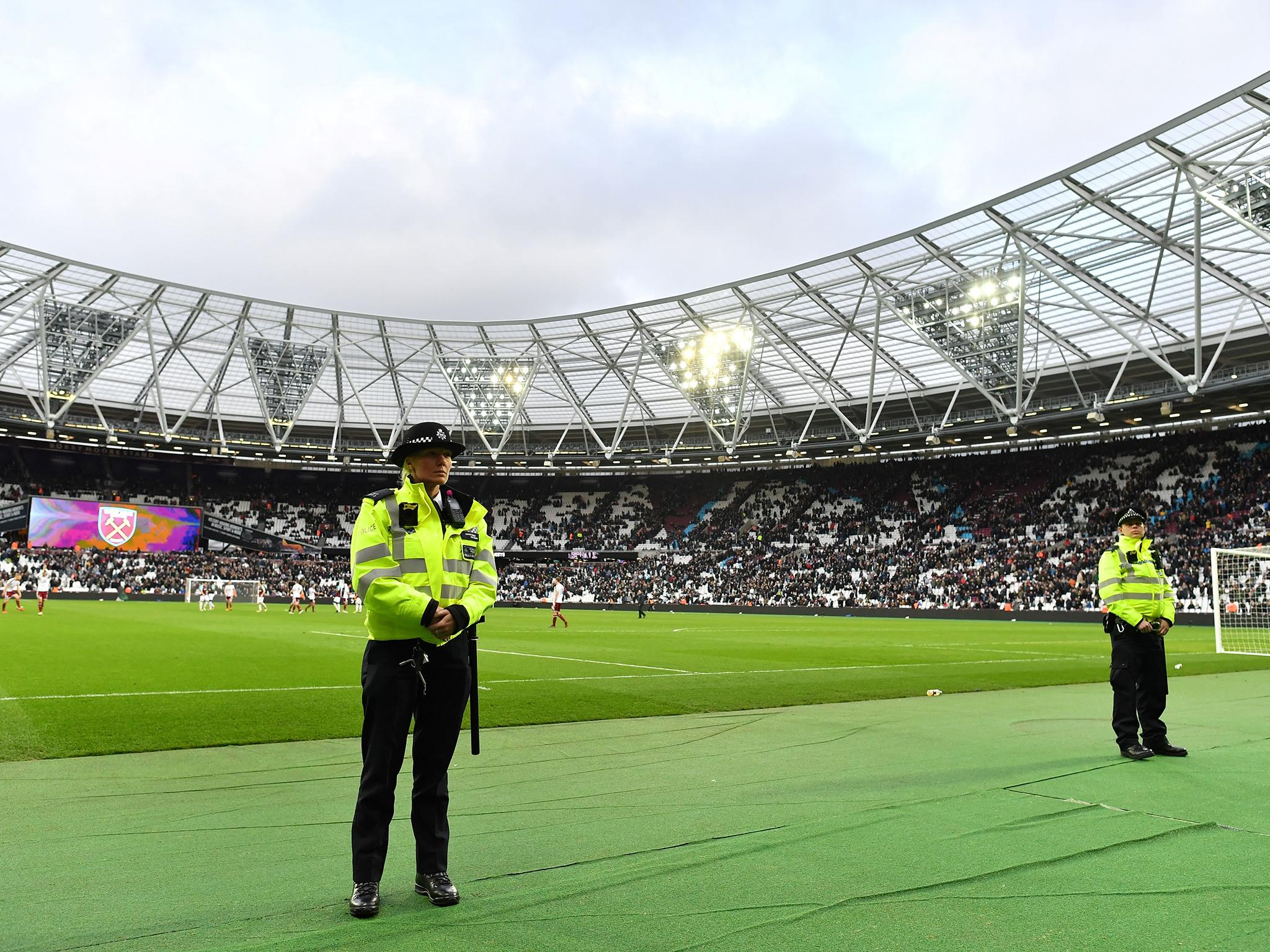 Police release images of 15 West Ham fans they want to speak to over London Stadium disorder