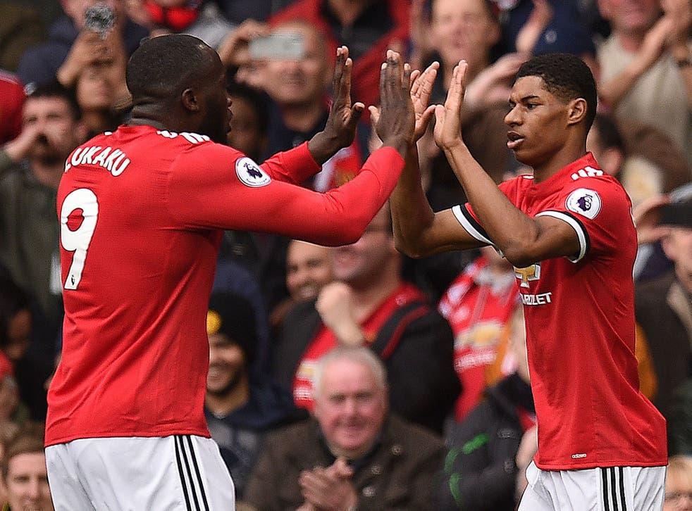 Romelu Lukaku and Marcus Rashford will be Manchester United's strikers next season