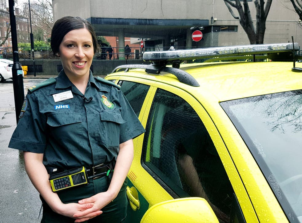 Gemma Walsh, an advanced paramedic specialising in urgent care, said the change means she can now see patient care through from start to finish