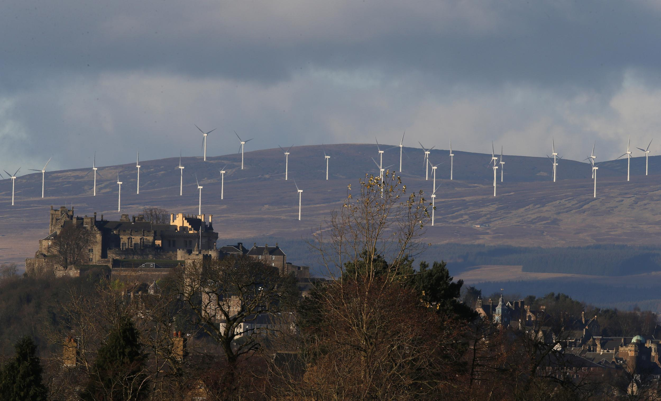 Scotland produces record amount of energy from renewables as