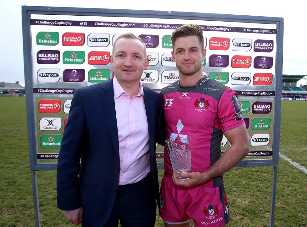 Henry Trinder claimed the man-of-the-match award as Gloucester beat Connacht 33-28
