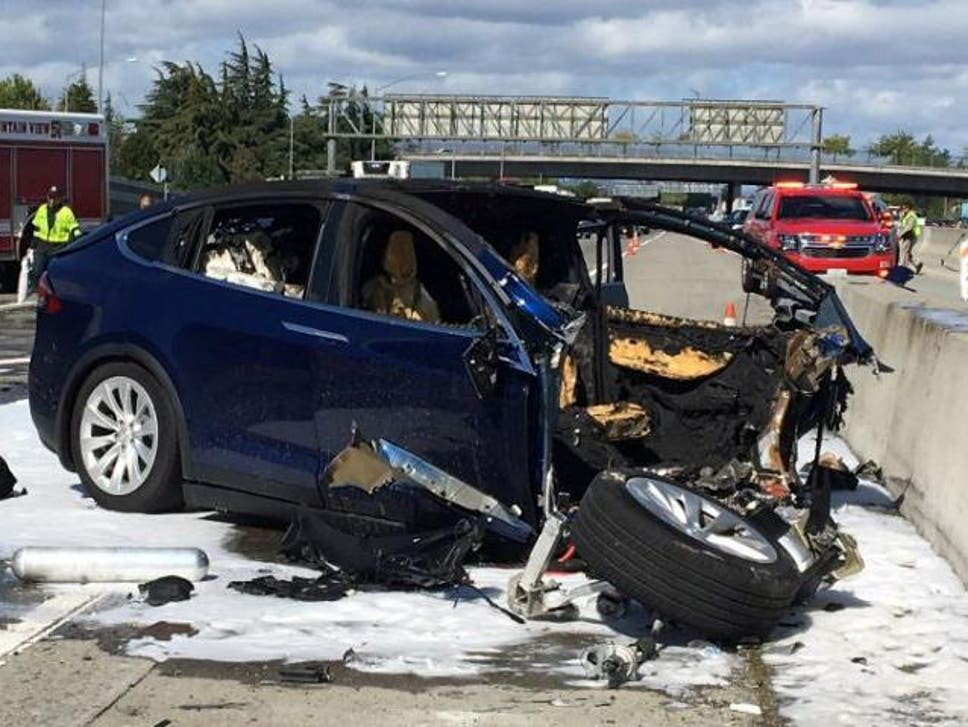 Tesla autopilot caused car to accelerate before fatal crash ...