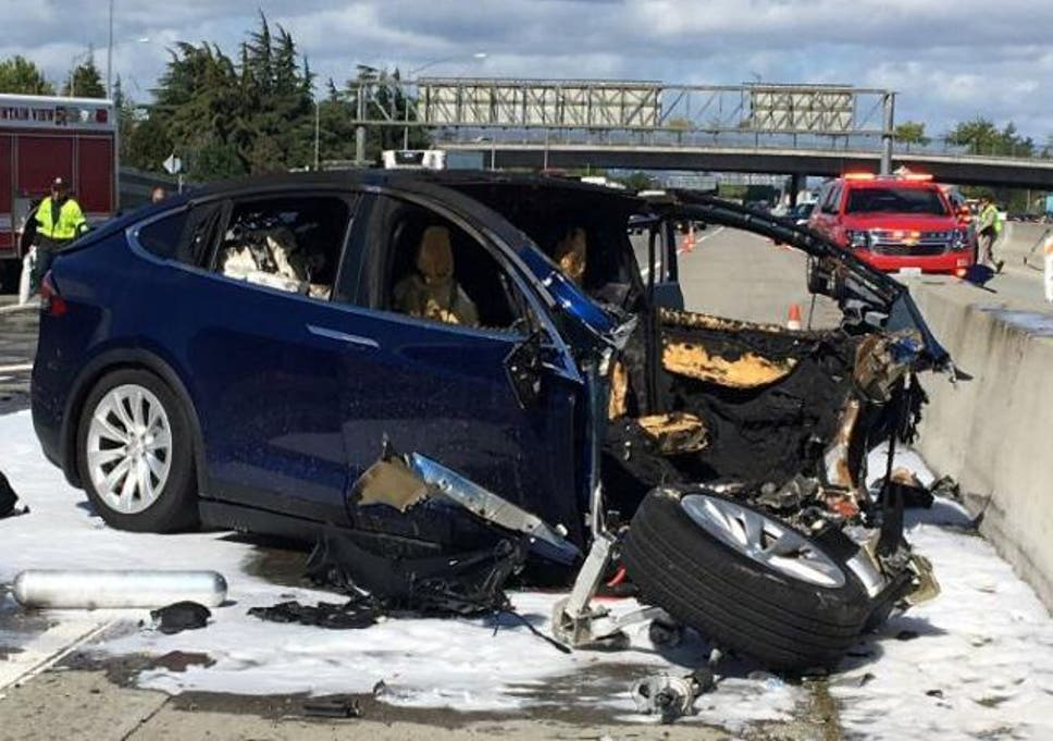 Tesla autopilot caused car to accelerate before fatal crash