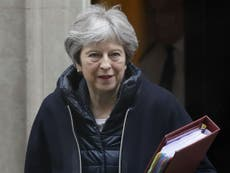 May calls urgent cabinet meeting over Britain's response to Syria