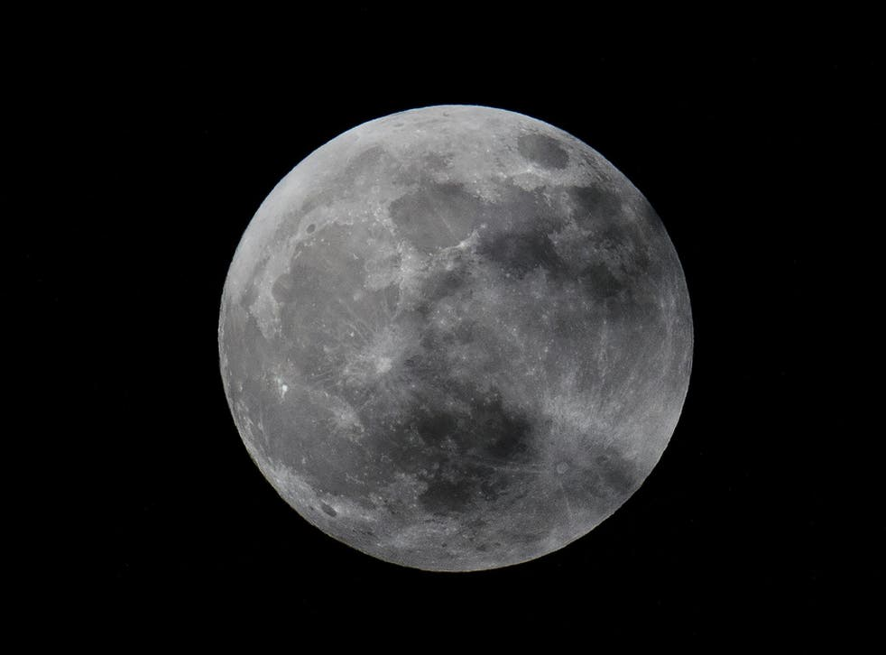 The lunar far side is far more cratered than the near side