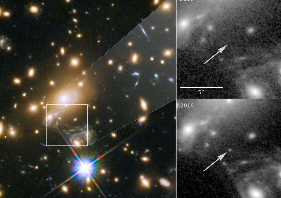 Most distant star ever seen spotted by hubble telescope 9 billion