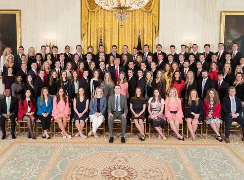 White House Interns, 2018