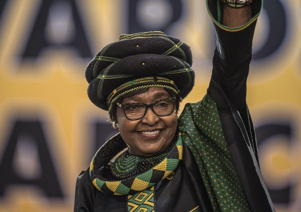 02b1d967fb Winnie Madikizela-Mandela  Tarnished leader of South Africa s ...