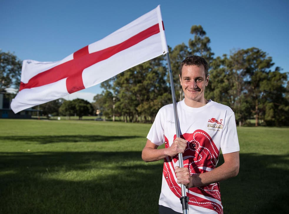 Alistair Brownlee will carry the flag for England at the Commonwealth Games opening ceremony