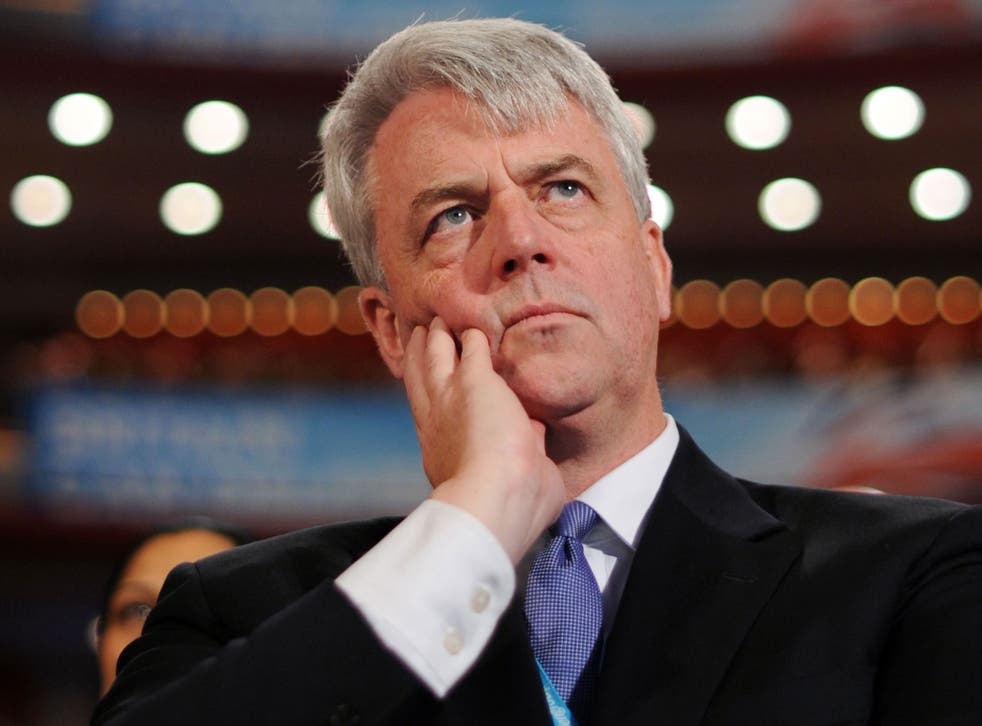 The former health secretary, Andrew Lansley, who has revealed he is being treated for bowel cancer