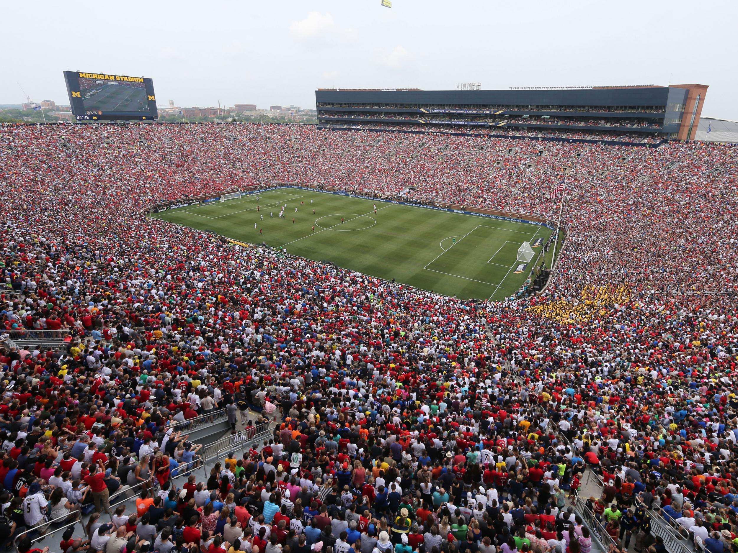 Manchester United Announce Pre Season Tour To United States With Liverpool Likely Opponents Across The Pond The Independent