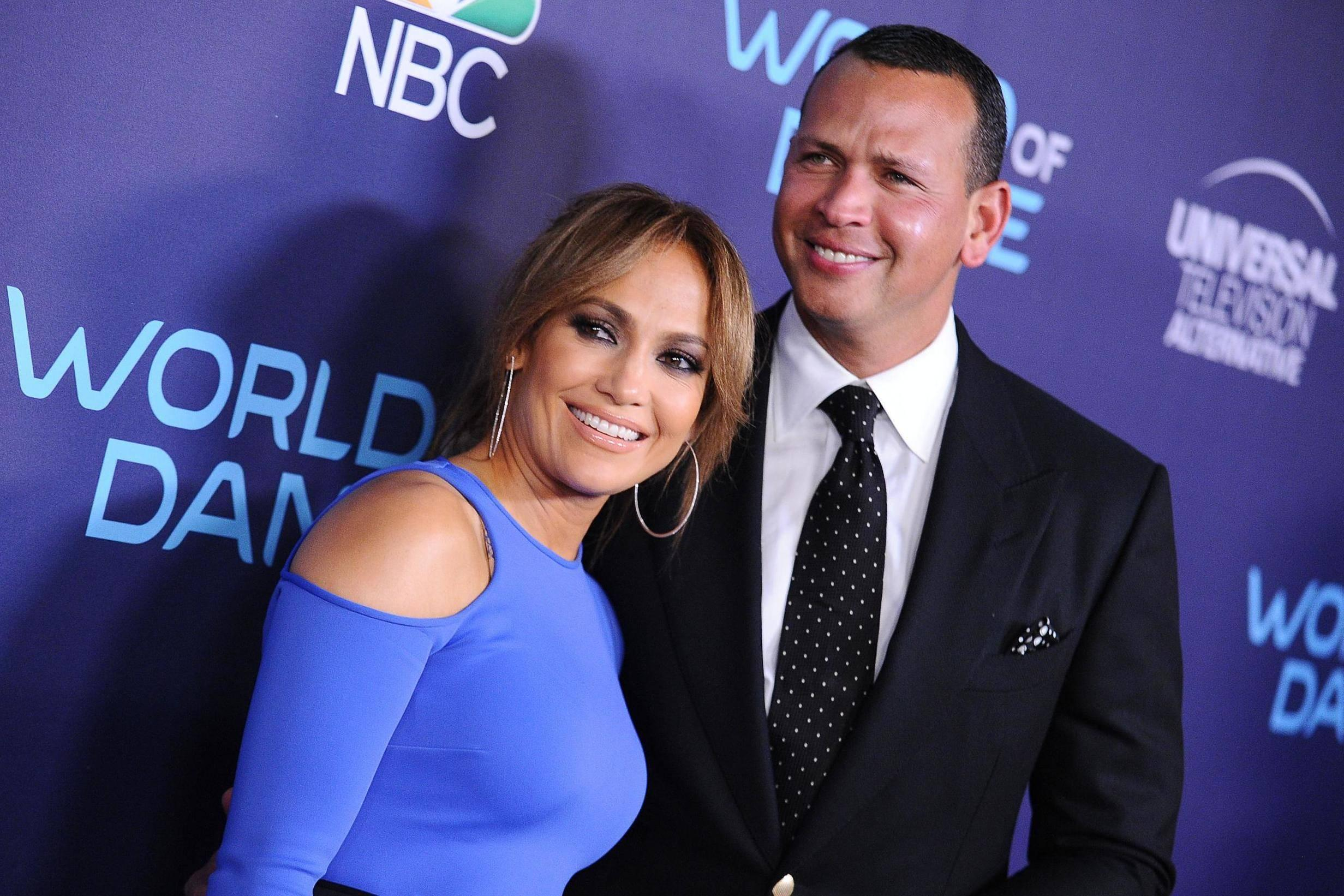 Jennifer Lopez and Alex Rodriguez on Love Beauty and