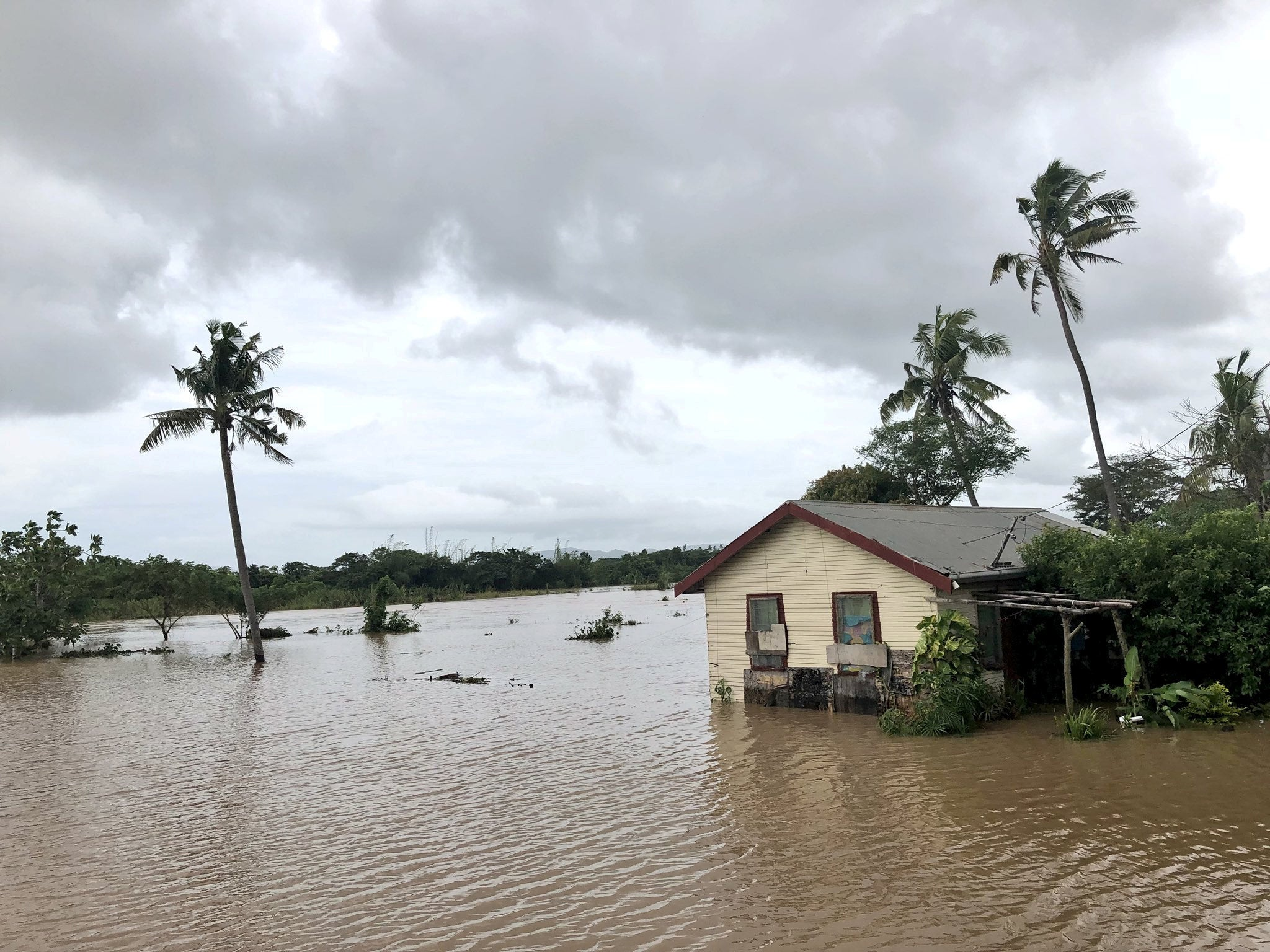 Image result for Fijian community flooded by sea level rise climate change picture
