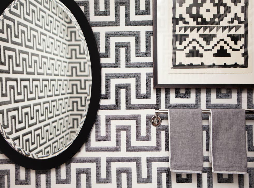The motif strikes the right balance of decorative and simple, ancient and modern, masculine and feminine