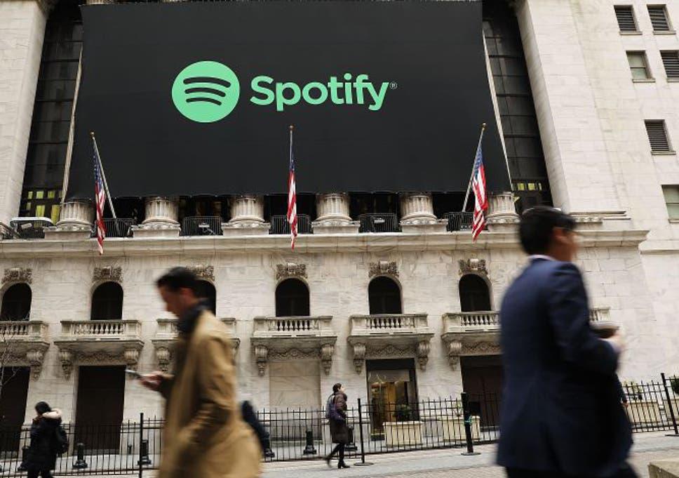 Spotify sees big Wall Street debut amid tech sector turmoil