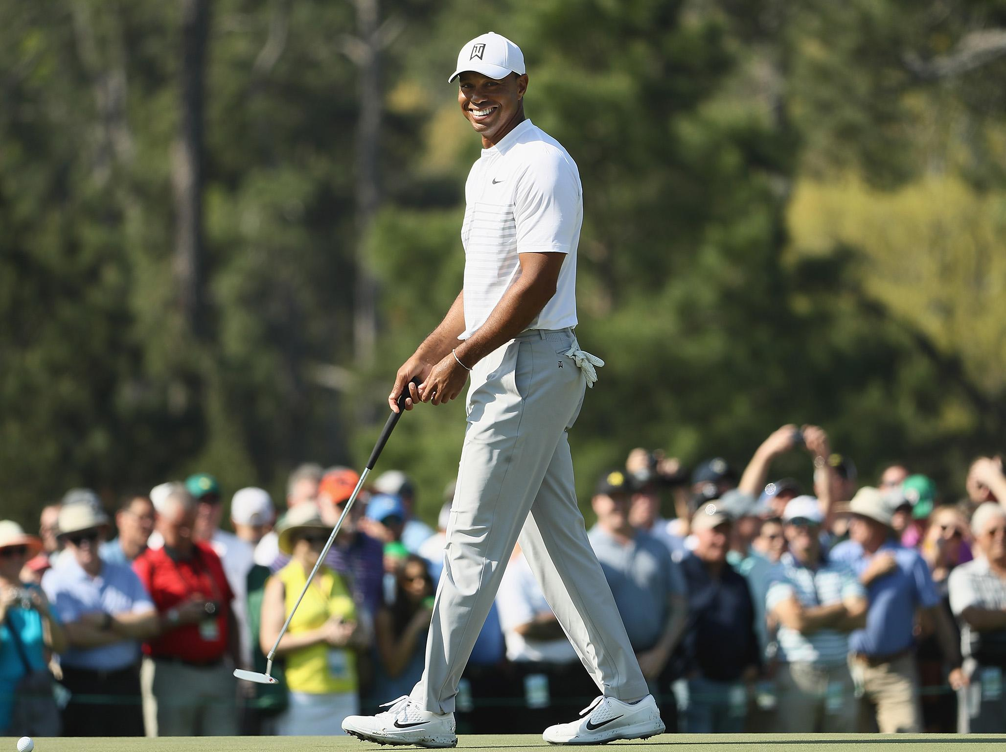 Masters 2018: Tommy Fleetwood paired with Tiger Woods as tee times for opening two rounds revealed | The Independentindependent_brand_ident_LOGOUntitled