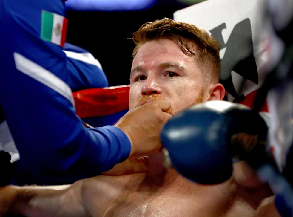 Canelo has announced that the rematch has been cancelled