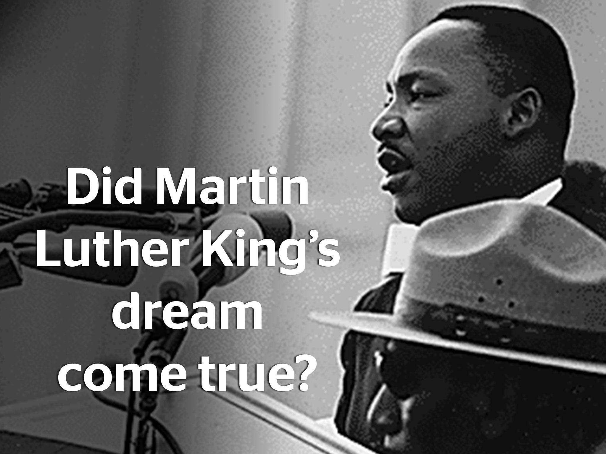 martin luther king equality