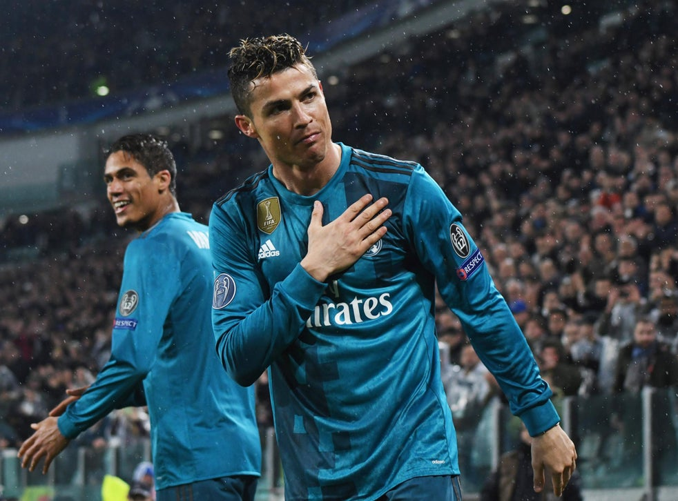 Cristiano Ronaldo S Stunning Bicycle Kick Goal Helps Real Madrid Walk Over Juventus The Independent The Independent