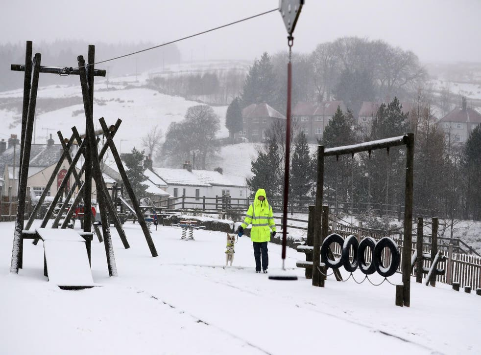 A wave of cold weather from Russia, bringing heavy snowfall, hit the UK in February. Another freezing wave, nicknamed the 'Mini Beast from the East' hit the UK in March