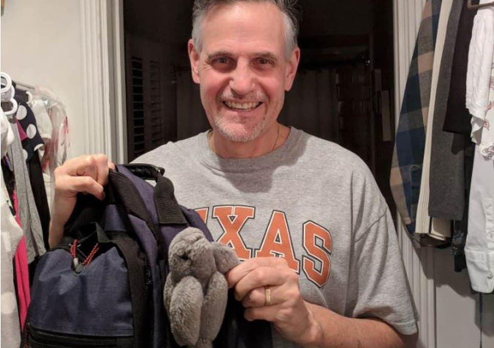 Father took daughter's stuffed toy to work every day for 18
