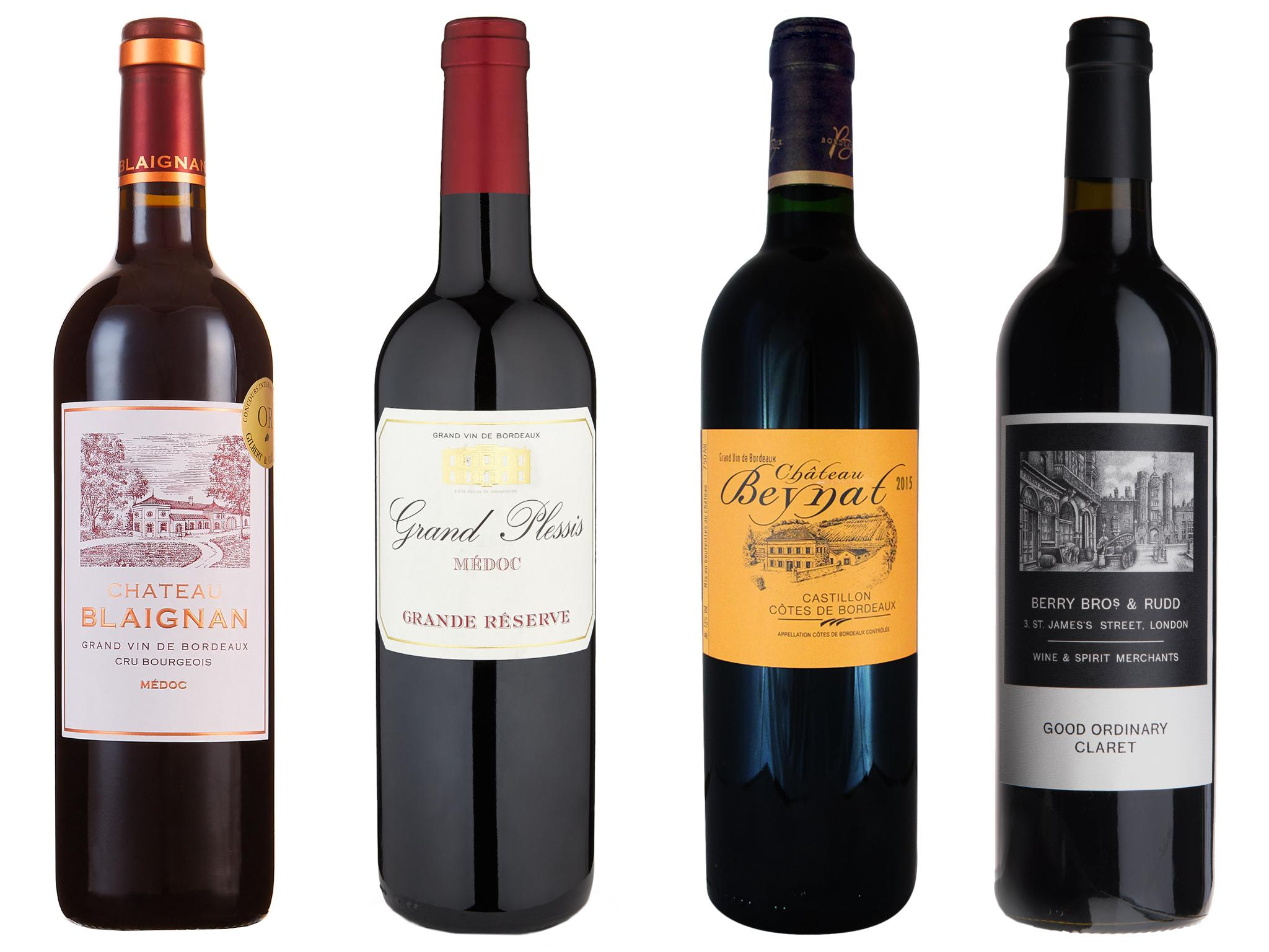 Wines of the week: 7 affordable clarets | The Independent