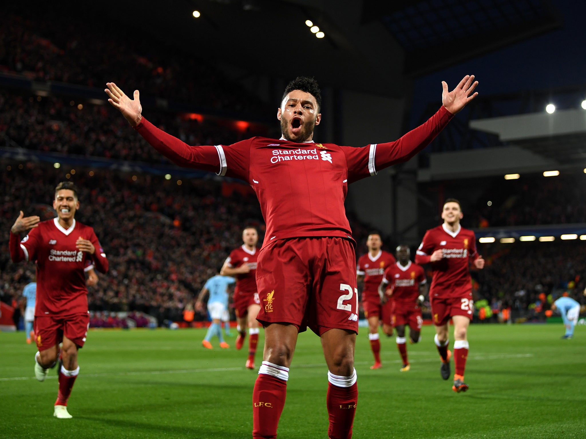 Liverpool's Alex Oxlade-Chamberlain Has Transformed His