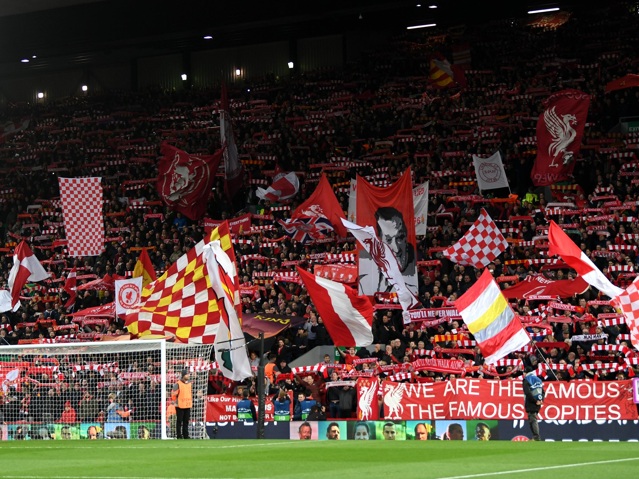 805cf5f3ecb Anfield feels impenetrable when Liverpool play this way. Try not imagine  what an alternative world would be like