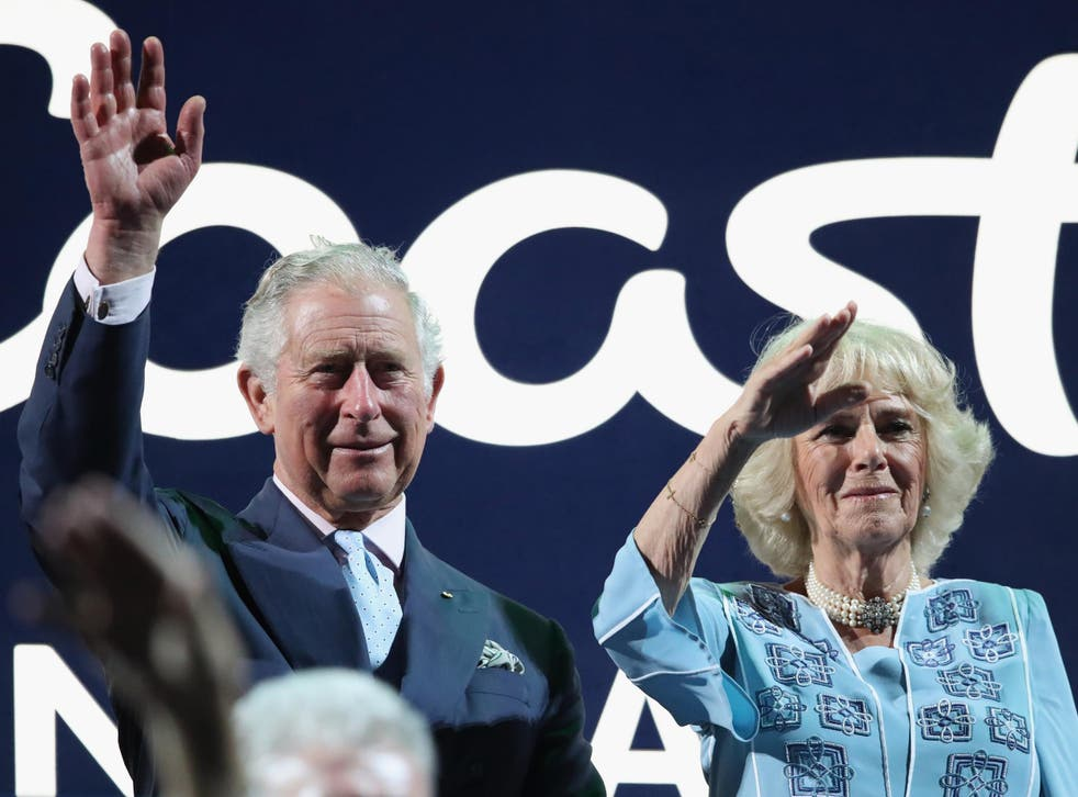 Camilla looked exhausted during the opening ceremony