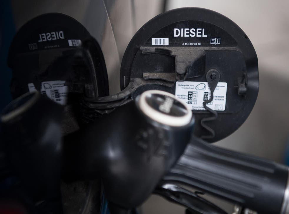 Buyers may be deterred from diesel cars after the government set a future date to ban them