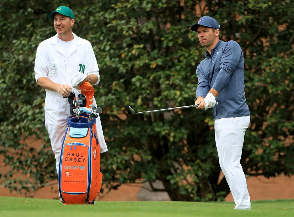 Casey arrives at Augusta in a bit of form