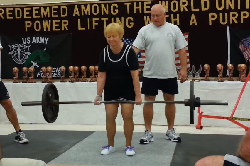 Meet The 97 Year Old Weightlifting Grandmother The Independent