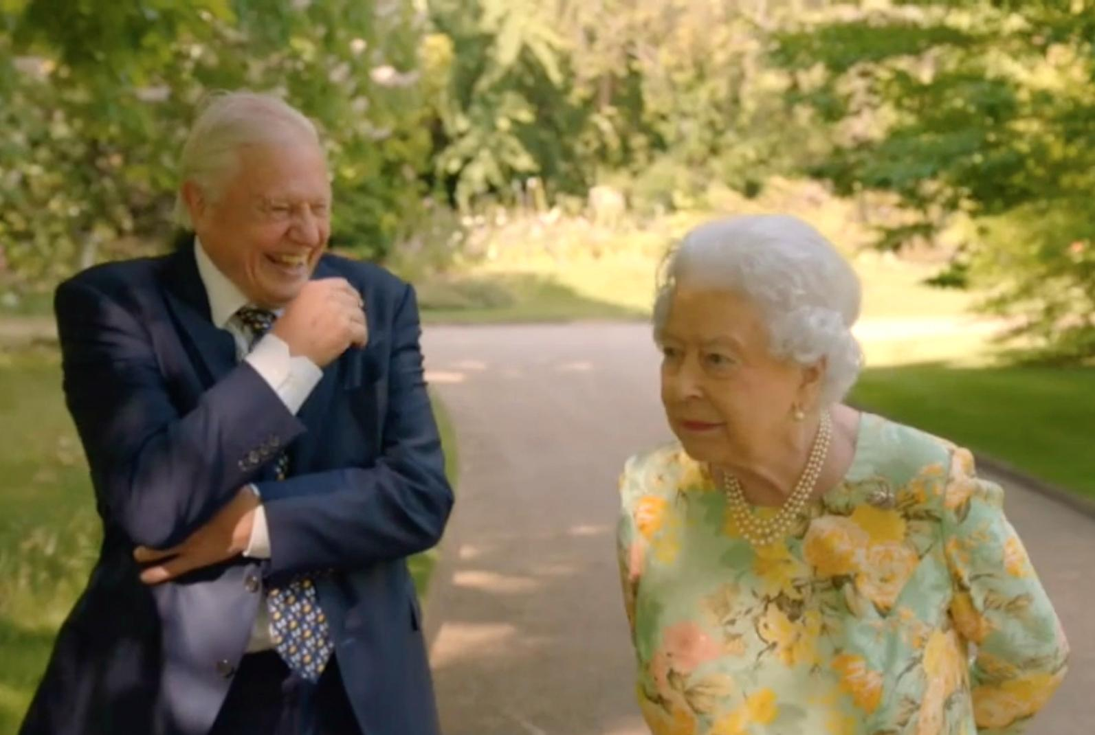 The Queen And Sir David Attenborough Team Up To Protect